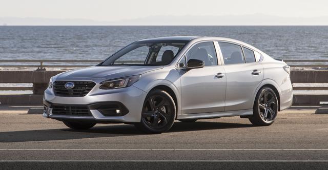 Subaru Legacy Again Offers Superlative Handling