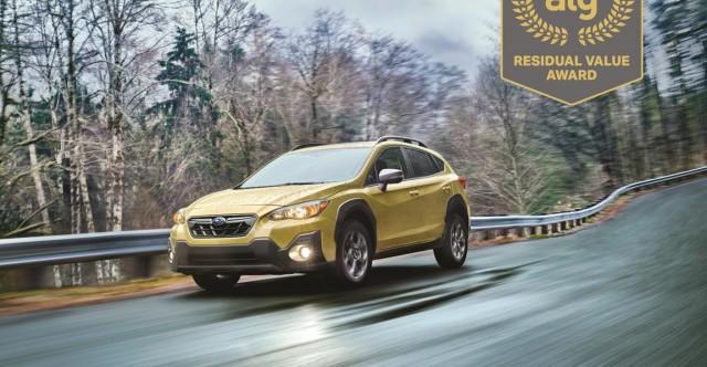 Subaru Named Top Brand For Maintaining Residual Value